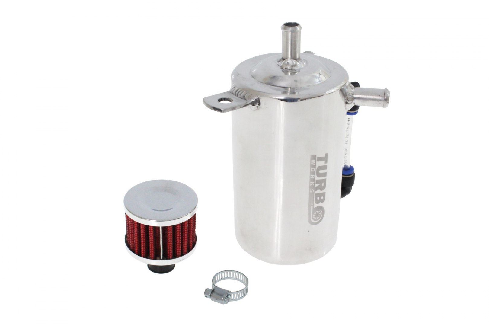 Zbiornik wody płynu chłodniczego uniwersalny 0,5L TurboWorks - GRUBYGARAGE - Sklep Tuningowy